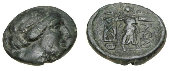 Ancient Coins - Thessalian league AE 20 196-146 BC S-2237