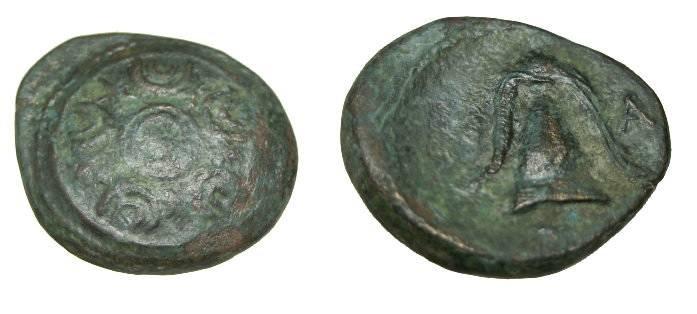 Ancient Coins - Macedonian Kingdom Interregunin 288-277 BC AE 18 S-6782