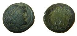 Ancient Coins - Macedonia Amphipolis AE 18 187-31 BC