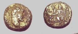 Ancient Coins - Antoninus Pius Billion Tetradrachm Sarapis seated L