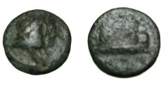 Ancient Coins - Phoenicia Arados 2nd - 1st Century BC AE17 S-6004