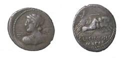 Ancient Coins - LICINIA C. Licinius L. f. Macer Denarius