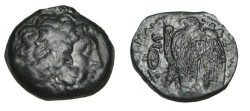 Ancient Coins - Ptolemaic Kingdom Ptolemy II 285-246 BC AE 26 S-7779