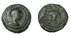 Ancient Coins - Elagabalus 218-222 AD Marcianopolis Moesia Inferior AE17