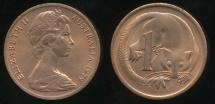 World Coins - Australia, 1979 One Cent, 1c, Elizabeth II - Uncirculated