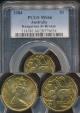 World Coins - Australia, 1984 One Dollar, $1, Elizabeth II - PCGS MS66