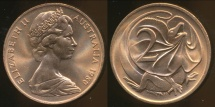 World Coins - Australia, 1980 Canberra 2 Cent, Elizabeth II - Uncirculated