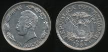 World Coins - Ecuador, Republic, 1964 1 Sucre - Uncirculated