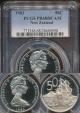 World Coins - New Zealand, 1983 Fifty Cents, 50c, Elizabeth II - PCGS PR68DCAM