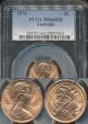 World Coins - Australia, 1970 2 Cents, Elizabeth II - PCGS MS66RD