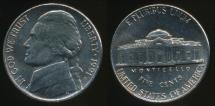World Coins - United States, 1991-P 5 Cents, Jefferson Nickel - Uncirculated