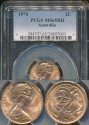 World Coins - Australia, 1970 2 Cents, Elizabeth II - PCGS MS65RD