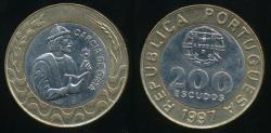 World Coins - Portugal, Republic, 1997 200 Escudos - Uncirculated