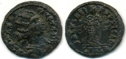 Ancient Coins - FAUSTA, AE-Follis, AD 325-326, Alexandria mint, (20mm, 3.06 gm) - RIC VII 39