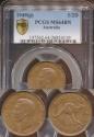 World Coins - Australia, 1949(p) Halfpenny, George VI - PCGS MS64BN