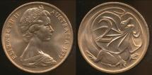 World Coins - Australia, 1977 Canberra 2 Cent, Elizabeth II - Uncirculated