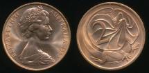 World Coins - Australia, 1984 Two Cents, 2c, Elizabeth II - Uncirculated