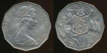 World Coins - Australia, 1980 Fifty Cents, 50c, Elizabeth II - Uncirculated