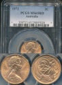 World Coins - Australia, 1972 2 Cent, Elizabeth II - PCGS MS65RD