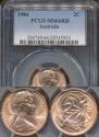 World Coins - Australia, 1984 2 Cents, Elizabeth II - PCGS MS66RD