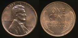 World Coins - United States, 1958-D One Cent, 1c, Lincoln Wheat - Uncirculated
