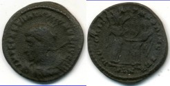 Ancient Coins - CONSTANTINE I, AE-Follis, AD 306-337, London mint, (18mm, 3.04 gm), Struck AD 319 - RIC VII 156