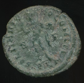 Ancient Coins - CONSTANTINE I, AE-Follis, AD 306-337 (23mm, 2.60 gm) London mint, Struck AD 313-314, RIC VII 11