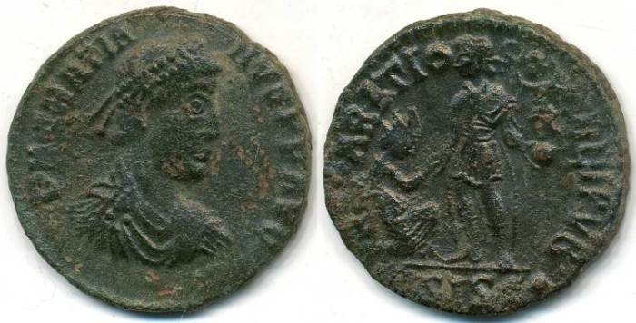Ancient Coins - GRATIAN, AE-2, AD 367-383, Siscia mint, Struck 378-383 AD, (22mm, 5.06 gm) - RIC 26a