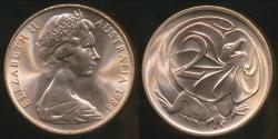 World Coins - Australia, 1984 Canberra 2 Cent, Elizabeth II - Choice Uncirculated
