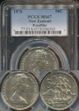 World Coins - New Zealand, 1970 Fifty Cents, 50c, Elizabeth II - PCGS MS67 Prooflike