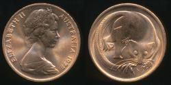 World Coins - Australia, 1978 One Cent, 1c, Elizabeth II - Uncirculated