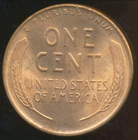 World Coins - United States, 1945-S One Cent, Lincoln Wheat - Uncirculated
