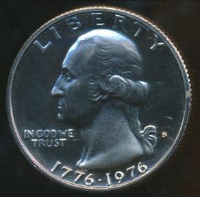 World Coins - United States, 1976-S Quarter Dollar, Washington (Drummer Boy) - Proof