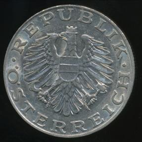 World Coins - Austria, Republic, 1989 10 Schilling - Extra Fine