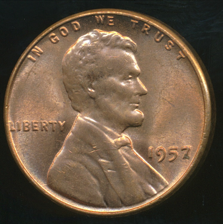 Lincoln (AL) United States  city photo : World Coins United States, 1957 One Cent, Lincoln Wheat ...