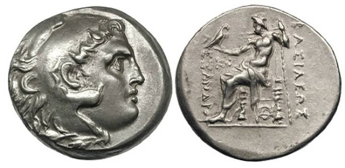Ancient Coins -  KINGS of MACEDON. Alexander III, AR Tetradrachm, 336-323BC, (29mm, 16.83 gm). Odessus, before ca. 240 - Price 1167