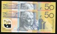 World Coins - Australia, 2007 Fifty Dollars, $50, Stevens/Henry, R521a (Run of 2) - Uncirculated