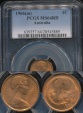 World Coins - Australia, 1966(m) One Cent, 1c, Elizabeth II - PCGS MS64RD