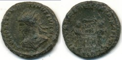 Ancient Coins - CONSTANTINE II, AE-3, AD 317-340, London mint, (18mm, 2.87 g), Struck AD 317-324 - RIC VII 181