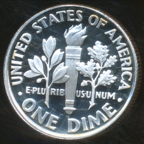 World Coins - United States, 2006-S Dime, Roosevelt (Silver) - Proof