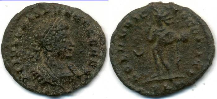Ancient Coins - CRISPUS, AE follis, AD 317-326, London mint, (19mm, 2.51 gm), Struck AD 317-318 - RIC VII 143