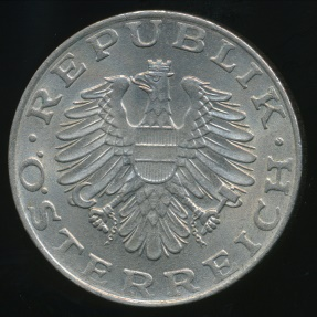World Coins - Austria, Republic, 1974 10 Schilling - Uncirculated
