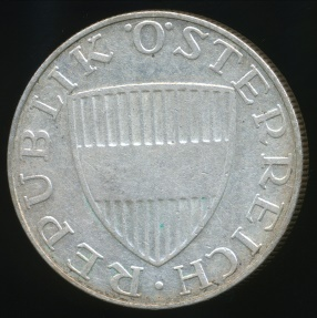 World Coins - Austria, Republic, 1957 10 Schilling (Silver) - Very Fine