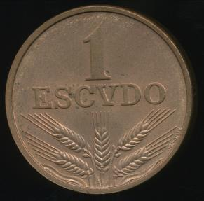 World Coins - Portugal, Republic, 1976 1 Escudo - Uncirculated