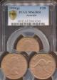 World Coins - Australia, 1953(p) Halfpenny, Elizabeth II - PCGS MS63RB