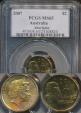World Coins - Australia, 2007 Two Dollars, $2, Elizabeth II - PCGS MS65