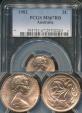 World Coins - Australia, 1982 2 Cents, Elizabeth II - PCGS MS67RD