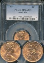 World Coins - Australia, 1974 2 Cents, Elizabeth II - PCGS MS66RD