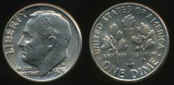 World Coins - United States, 1979-D Dime, Roosevelt - Uncirculated