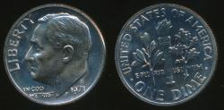 World Coins - United States, 1971-S Dime, Roosevelt - Proof
